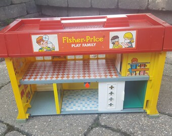 Vintage Toy Fisher Price Children's Hospital