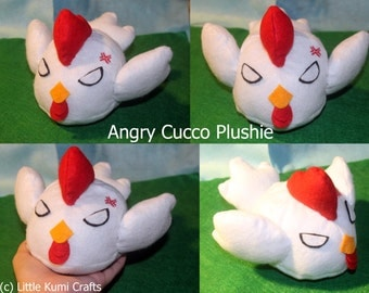 Angry Cucco plushie