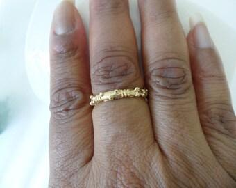 Vintage wedding ring Etsy