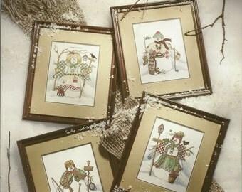 Snow Buddies Cross Stitch Booklet