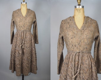 Earth Day Dress / 1960s Dress / Jan Sue of California
