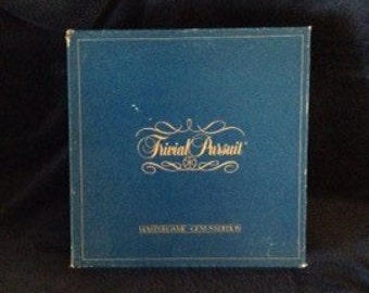 1981 Trivial Pursuit family board game