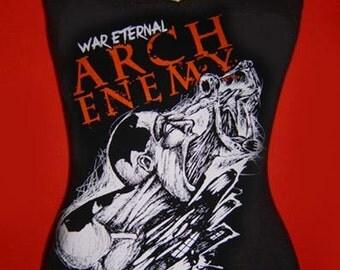 ARCH ENEMY diy cami girly Silent Screams shirt tank top death metal band  tee singlet  xs s m l xl