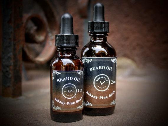 Beard Oil with Vitamin E - Albany Pine Bush (A Light, Desert-Pine Scent)