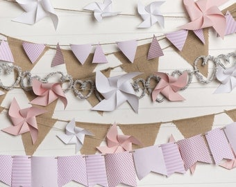 Pink Pinwheel Photo Backdrop