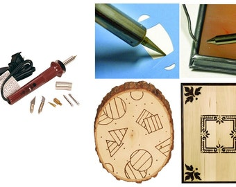 Walnut Hollow Creative Hobby Tool, Hobby Enthusiast Tool For Woodburning, Hot Knife Cutting Or Solder, Hot Tool For Making Holes Or Patterns