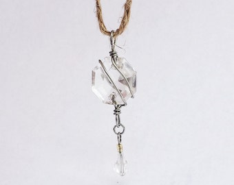 Real Crystal Pendant