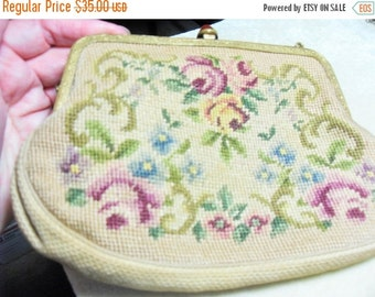 SALE Vintage Art Deco purse, Stern Brothers purse, Embroidered Clutch purse, Gift for her, collectible purse, classic GIngerslittlegems