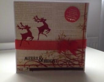 Vals handmade Christmas Cards
