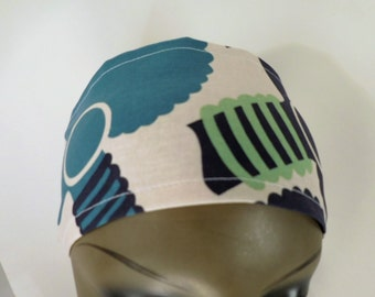 Afro Headband - Navy and Teal