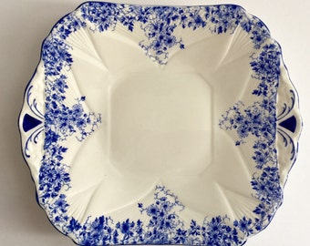 Shelley Dainty Blue Cake Plate