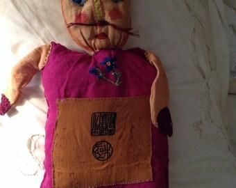 Hand sewn Cat Doll