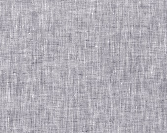 Gray Linen Fabric By The Yard