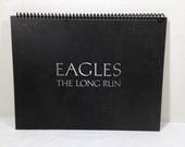 Eagles Handmade Vintage Record Cover Notebook Album Jacket Journal Ephemera || Unique Gift