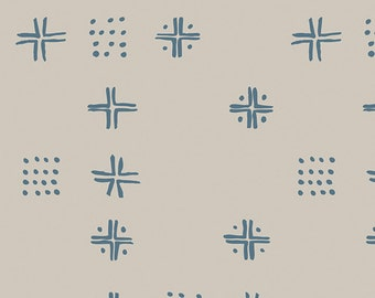SALE Tapestry - Mudcloth Inky - Sharon Holland - Art Gallery Fabrics (TAP-82496)