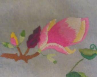 Pink Flower Sample