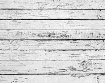 Wood Floordrops, Gray white vintage Wood floor fence,Vinyl Photography Backdrop, Food photography backdrop D-7574