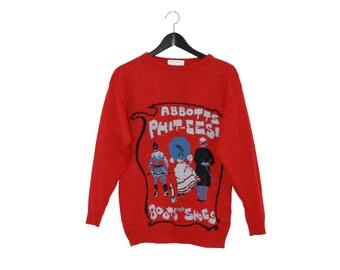 "Wool vintage pullover  ""ABBOTTS PHIT EESI"""
