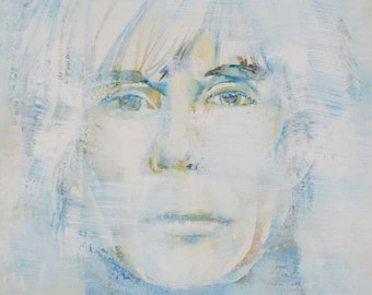 ANDY WARHOL  portrait - one of a kind!
