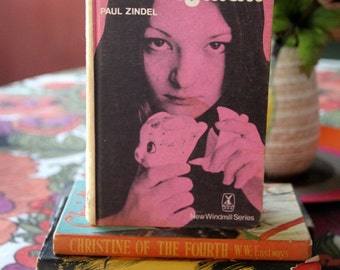 "A 1973 Classic teenage Novel ""The PIGMAN"" by Paul Zindel Hard Back"