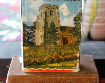 The Observers Book of Churches  -Vintage 1965 Hardback