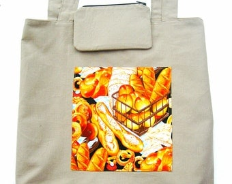 Market bag. Grocery bag. Shopping bag. Lined grocery bag. Cotton shopping bag. Large market bag. Reusable market tote