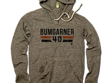 Madison Bumgarner MLBPA Officially Licensed San Francisco Women's Hoodie S-XL Madison Bumgarner Font K