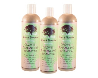 Moisturizing Shampoo • For Washing + Growing Natural Hair Without Stripping Its Oils • Grow Long & Healthy Hair That's Not Dry