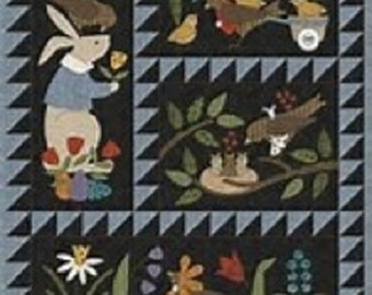 Bertie's Spring Quilt Pattern Set and Button Pack
