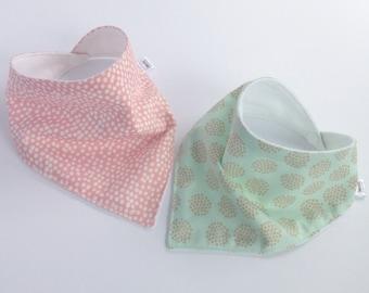 Modern Bandana Bib - Baby Drool Bib - Bandana Bib Pattern - Trendy Baby Shower Gift - Trendy Baby Bib, Designer Bandana Bib - Baby Must Have