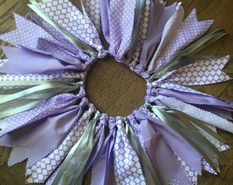 Lavender and Silver tutu/skirt