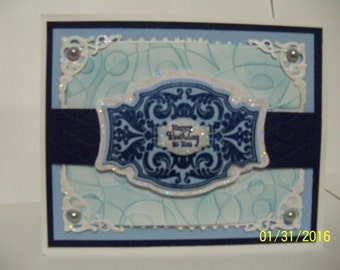 decorative happy birthday greeting card