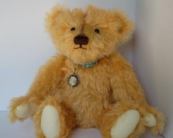 Mohair Bear with Collar