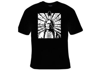 Native American Indian Chief T-shirt american indians t-shirts