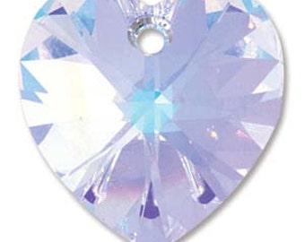18mm Swarovski Heart Pendant Crystal