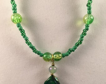 Beaded Shell Necklace