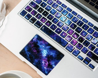 Macbook decal Galaxy Stardust Macbook Keyboard Stickers Macbook Pro Keyboard Asus HP Dell Chromebook Keyboard decals Keyboard #Stardust