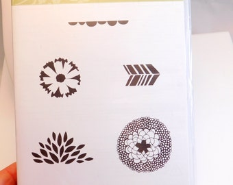 Stampin' Up Petal Parade Stamp Set