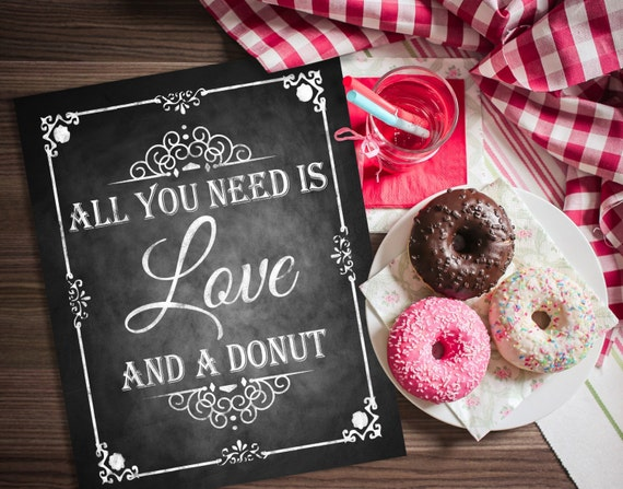 All you need is love and a donut