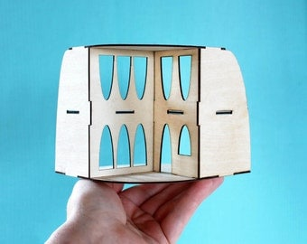 The Mini ARC: An original miniature model - including tiny furniture!