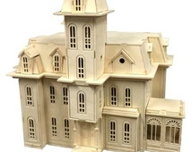 Unique the addams family related items   EtsyAddam    s Family House Model Kit