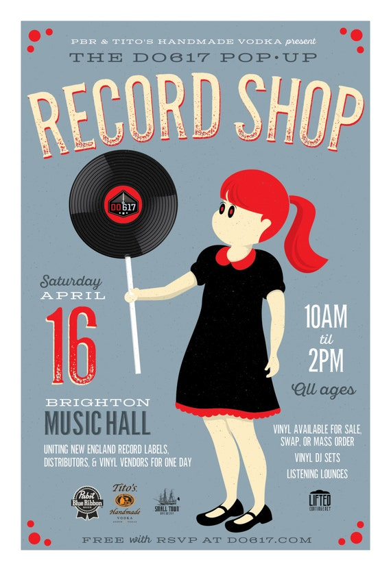 Do617 Pop-Up Record Shop