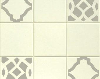 k che fliesen sticker mosaik fliesen aufkleberblack and. Black Bedroom Furniture Sets. Home Design Ideas