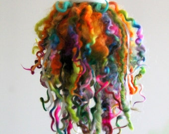 Home Decor - Accessories, Designer Tassel, Fairy, PIXIE TAIL - Rainbow Swirl