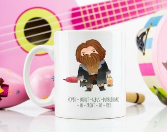 Harry Potter themed mug hagrid quote 110z