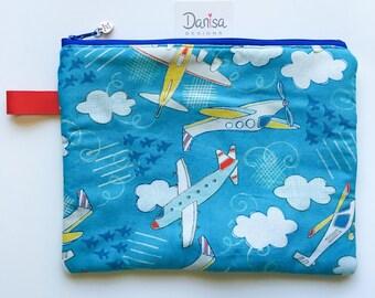 Pretty useful zipper pouch • Pencil case • Cosmetic bag