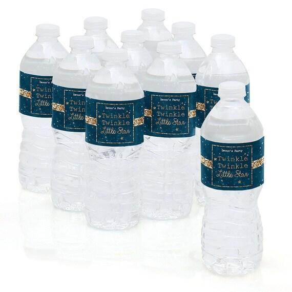 Water Bottle Sticker Labels