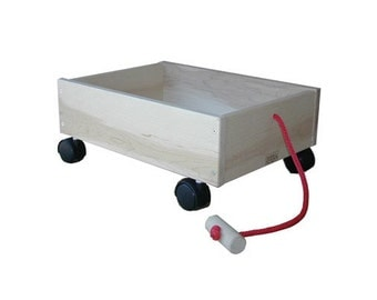Wooden Wagon, Toy Wagon, Kids Wagon