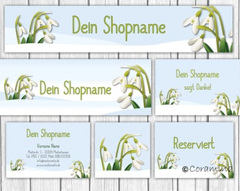 Shop banner package