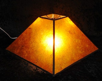 MICA Lamp shade Amber